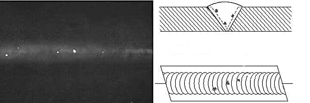 Вольфрамовые включения в аргоновой сварке