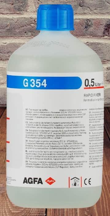 Для ручной обработки медицинских плёнок AGFA